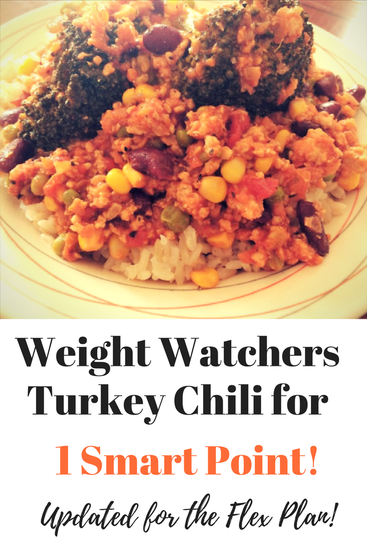 Weight watchers turkey chili recipe for the new Flex plan. This Weight Watchers chilli will keep your tummy full and you'll still lose weight. Use this Weight Watchers recipe that's low in smart points to help you achieve your weight loss goals