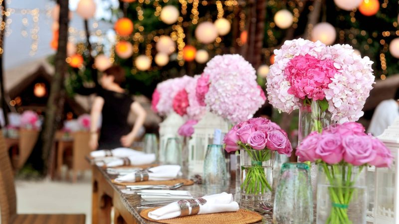 Wedding Planning – The Finishing Touches