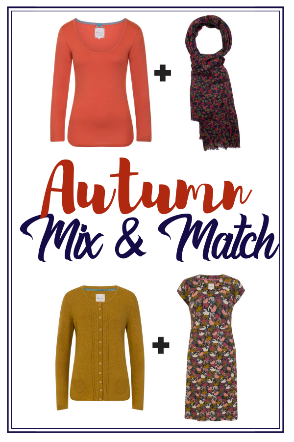 Dressing for autumn can be difficult with the ever changing weather. Solve this by going for a mix and match autumn wardrobe full of layers and rich colours #autmn #fashion #plussize