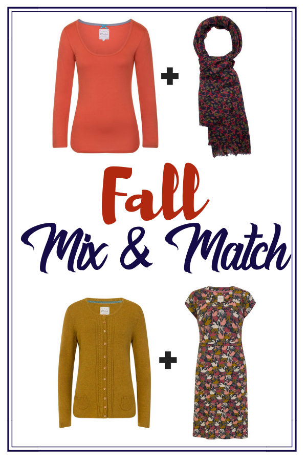 Choosing clothes as the season changes to fall can be quite difficult. Get it right with this fall mix and match layered wardrobe! #fall #falliscoming #fallishere
