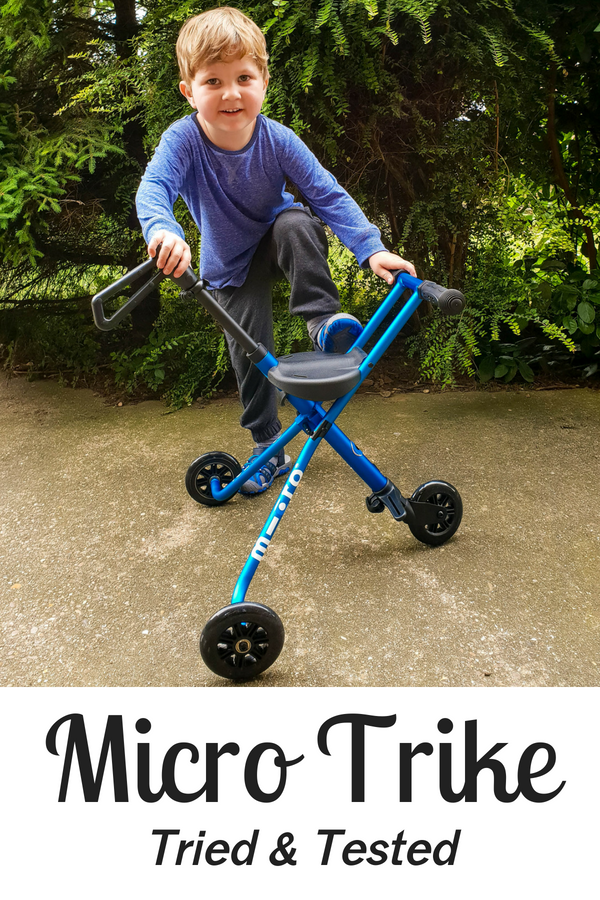 We tested the new Micro Trike on my three year old.I wanted a buggy or stroller alternative and I think I've found it! Mom's best friend!