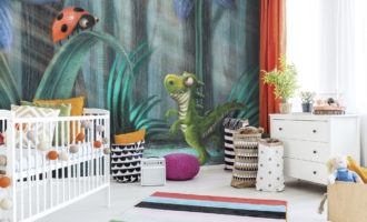 Creating a Dinosaur Themed Big Boy Bedroom for my Son
