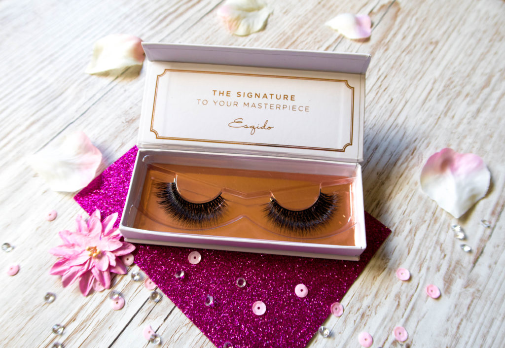 A close up on the Esqido mink lashes