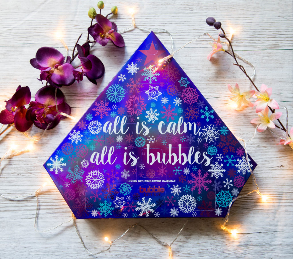 S&G Bubble Boutique Luxury Bath Time Advent Calendar