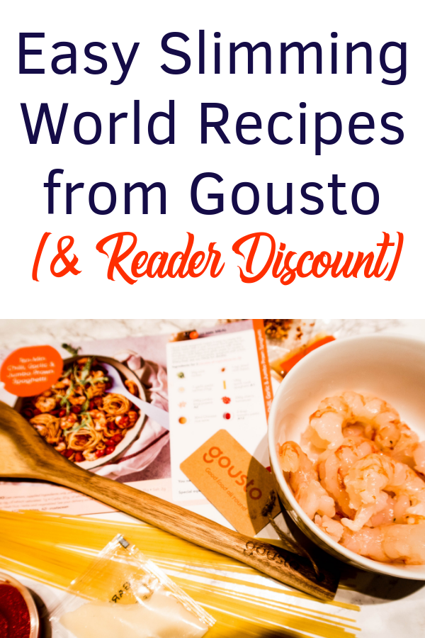 I tried some easy Slimming World recipes from recipe box service Gousto. I had to many some tiny tweaks to stay on pla, but these low syn, healthy option meals were delicious and easy! Find out what I went for and get a special reader discount to try it yourself!