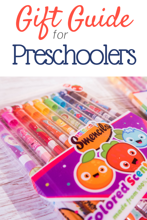 This preschoolers gift guide will give you plenty of ideas for what to buy any 3 year old - 6 year old in your life. Use it as a shopping list, or simple inspiration!