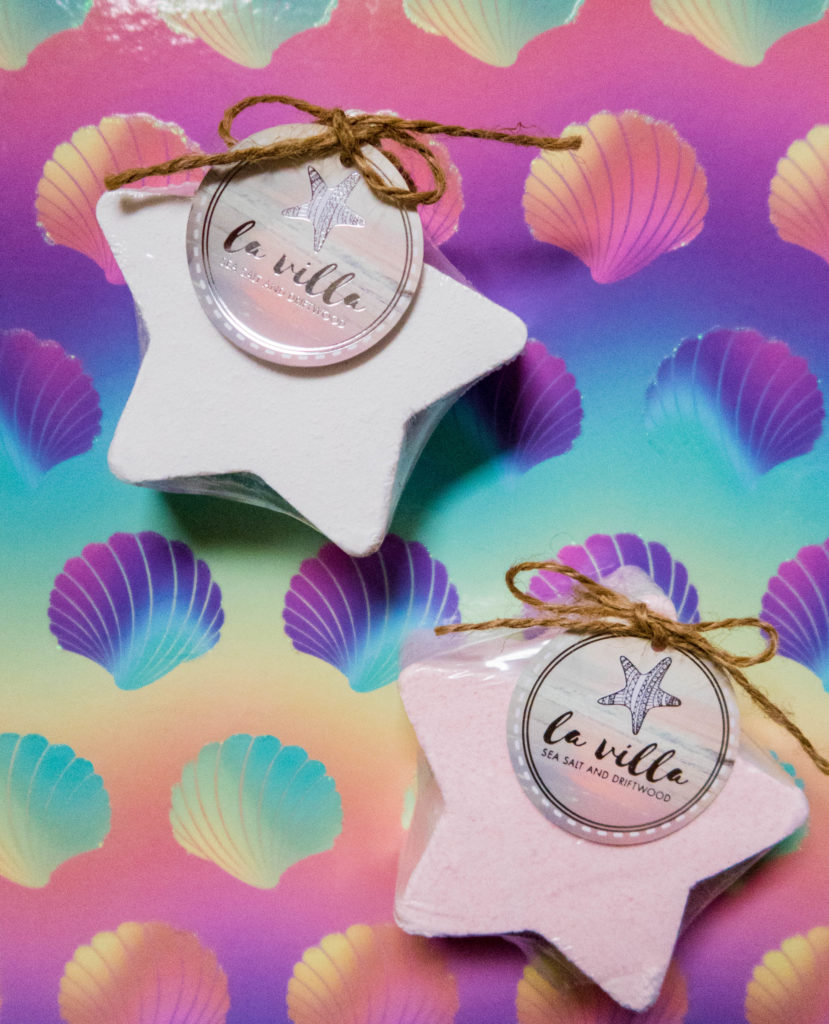 Star shaped bath fizzers form Tween Girls' Gift Guide - Gift Ideas for Girls Aged 8-12