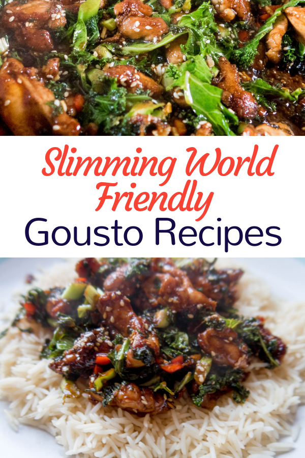 Slimming World recipes from Gousto, feauting low syn meals with healthy extras. East slimming world cooking in a box!
