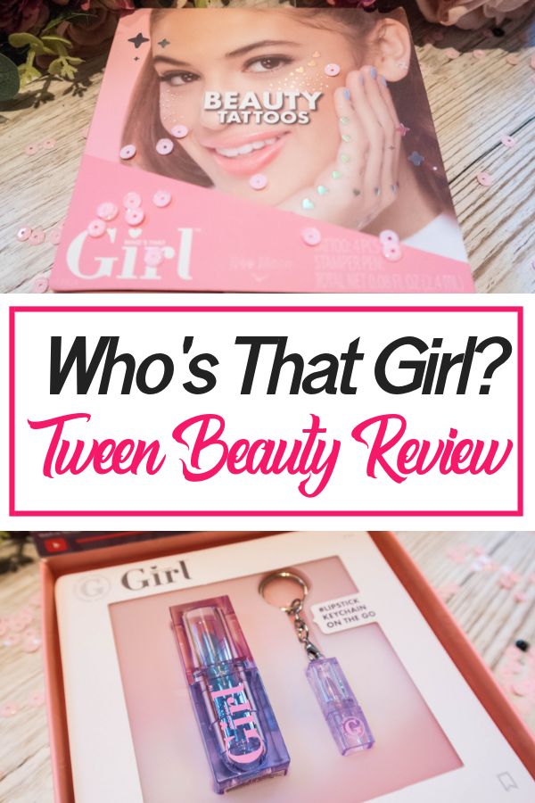 Who's That Girl tween beauty products are great stocking fillers for teens and tweens. Read the full post tot see what we got and how we used it! #beauty #teen