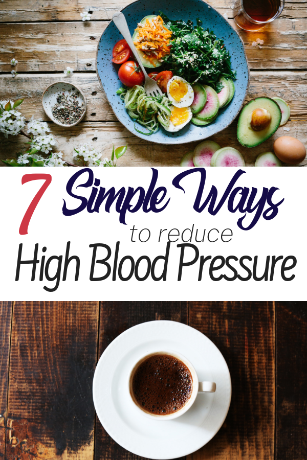 There are lots of ways to reduce high blood pressure naturally. We've looked into a lot of ways to lower blood pressure naturally for my husband, and this is what we've found...