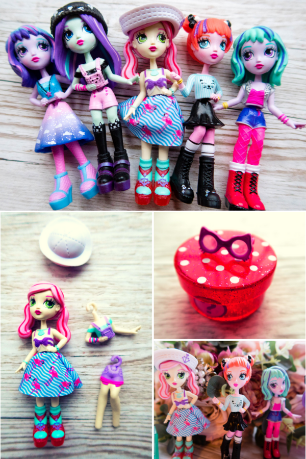 Off The Hook Style dolls are fun fashion dolls for kids that allow them to play with fashion and develop their own sense of style. #offthehook #fashiondolls #dolls
