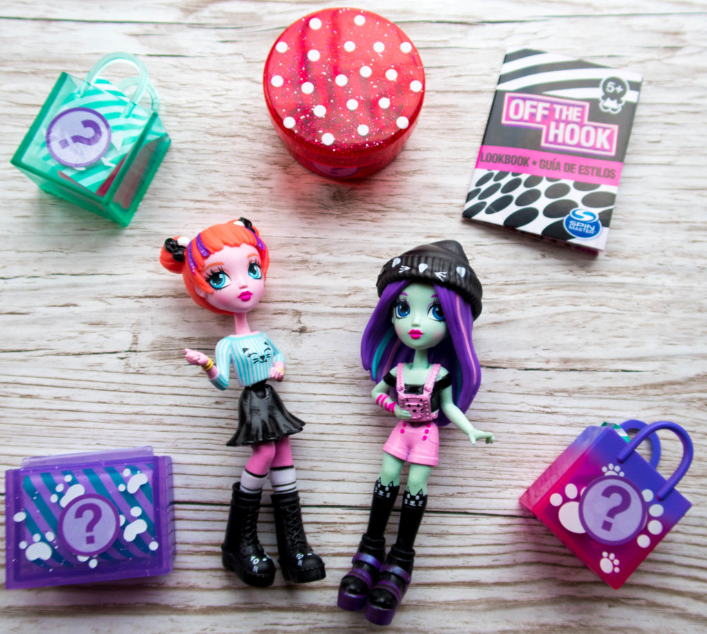 Off The Hook Style Dolls and the blind bags that come with them