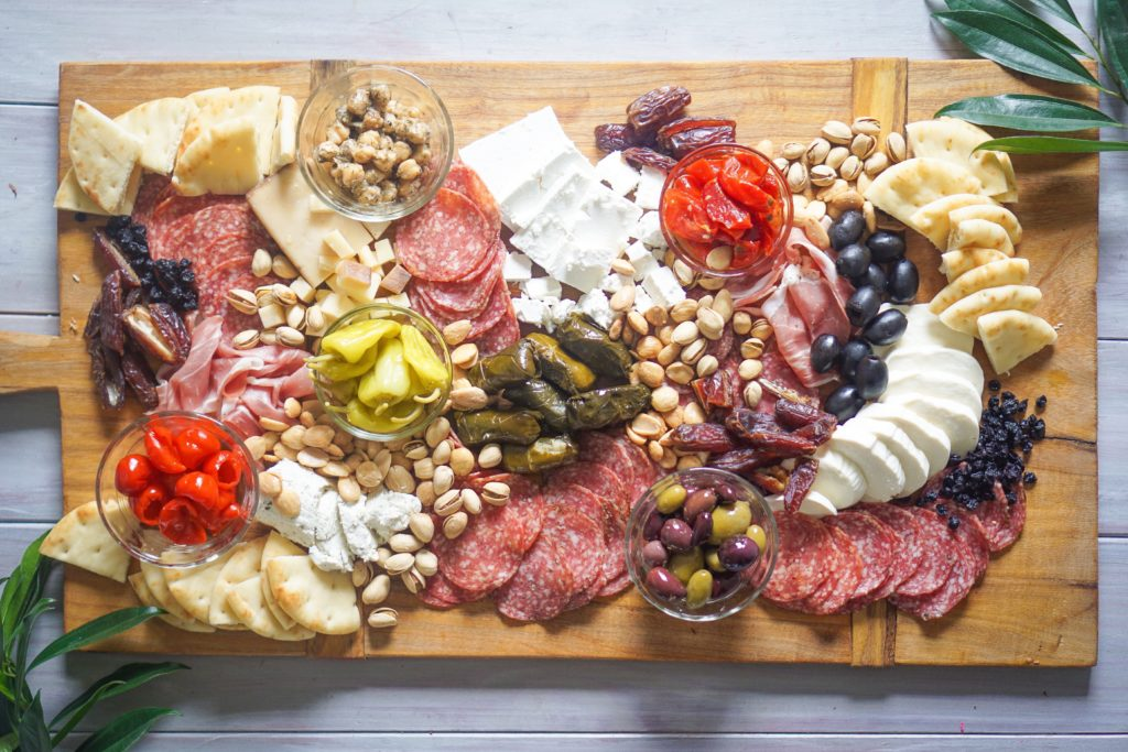 meat platter No-Cook Edible Gift Ideas