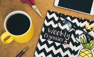 Get Organised – Five Tips to Get Organised