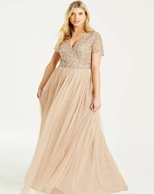 Plus size maxi dress for weddings, plus size wedding outfits