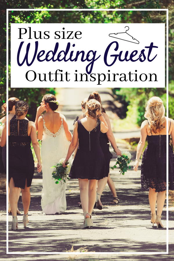 Plus size fashion for wedding guests. Deciding on your plus sized outfit for a loved one#s big day can be hard, this massive list of options should give you some plus size outfit inspiration! #plussize #plussizefashion #plussizejumpsuit