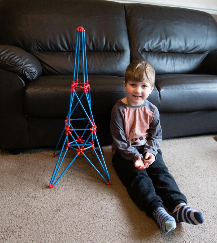 Flexistix Eiffel Tower by Hape