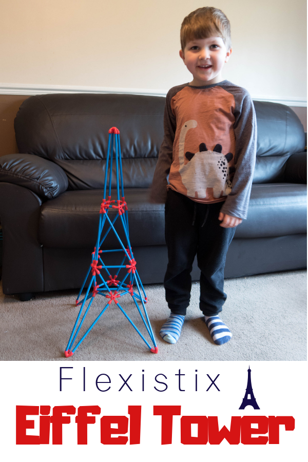 We love STEM toys for little kids, so when we were sent this Eiffel Tower building kit we were really excited to try it. Read the full review here #STEM #STEMlearning