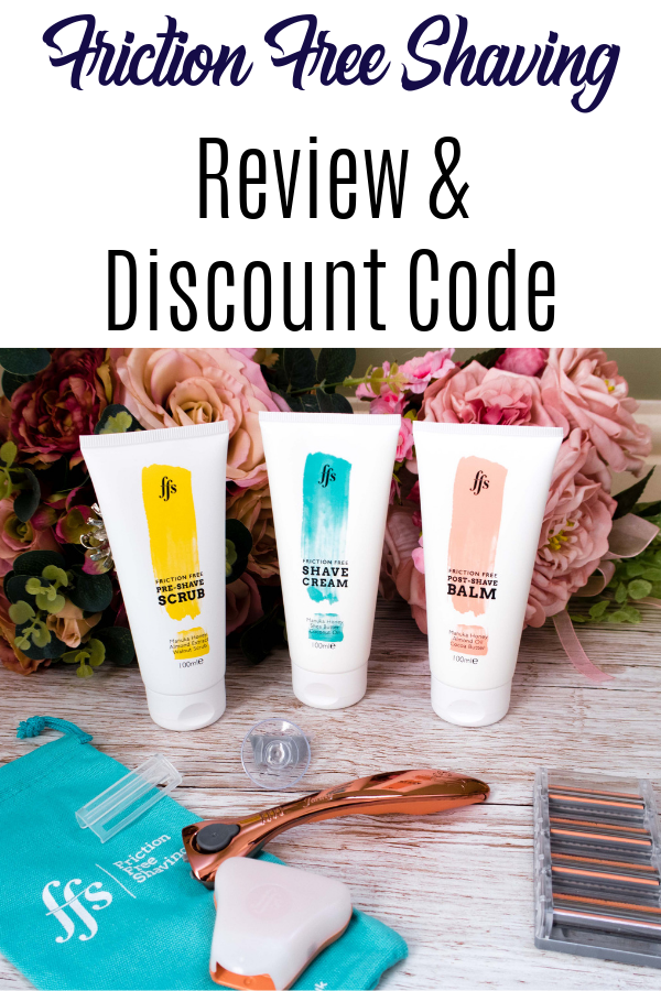 Friction Free Shaving discount code and review. How to get the perfect shave! #selfcare #shaving #beauty