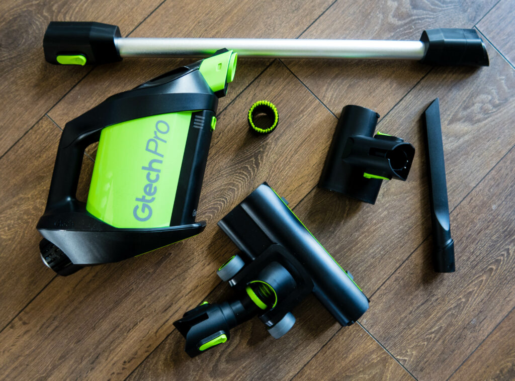 GTech Pro review, all attachments and base