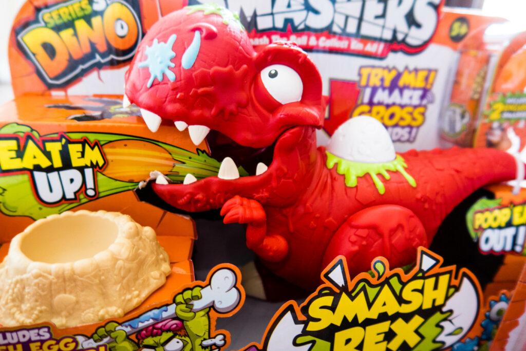 Smashers season 3 dinosaur Smash Rex