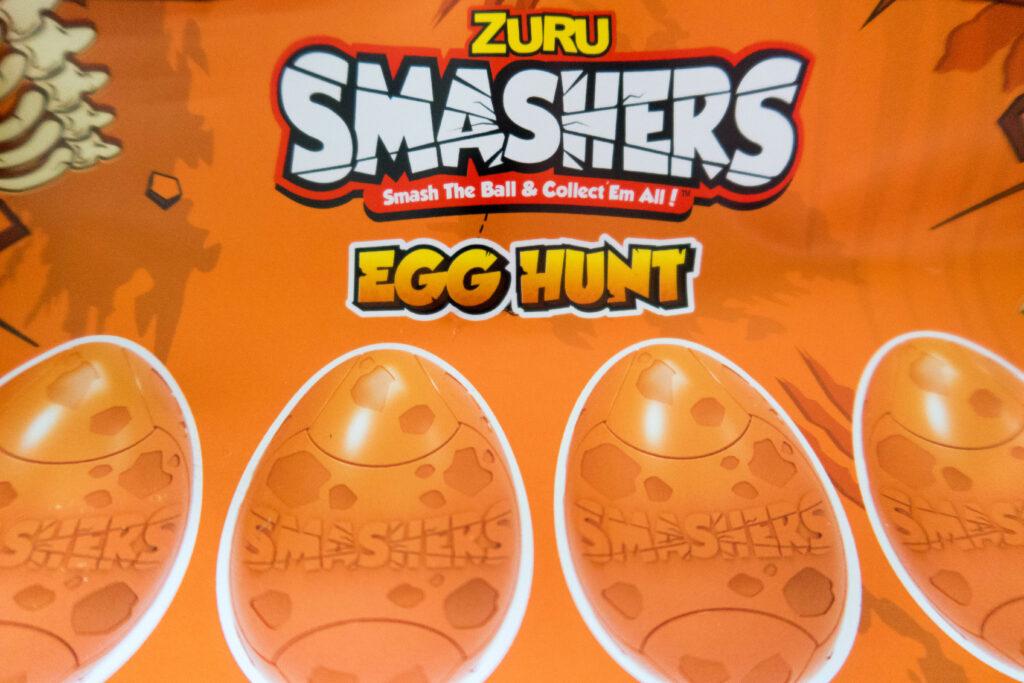 Smashers season 3 egg hunt card