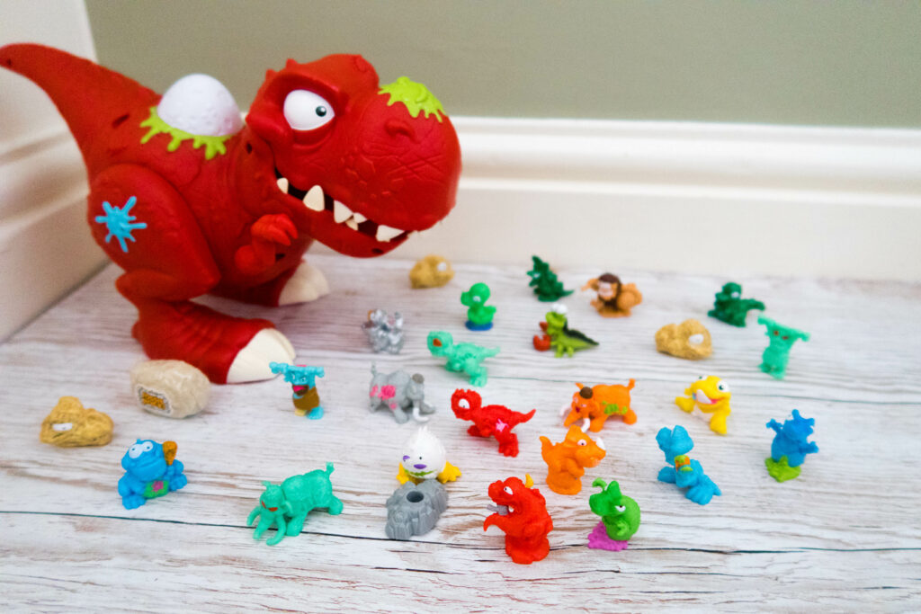 Smashers season 3 dinosaur and smashers characters