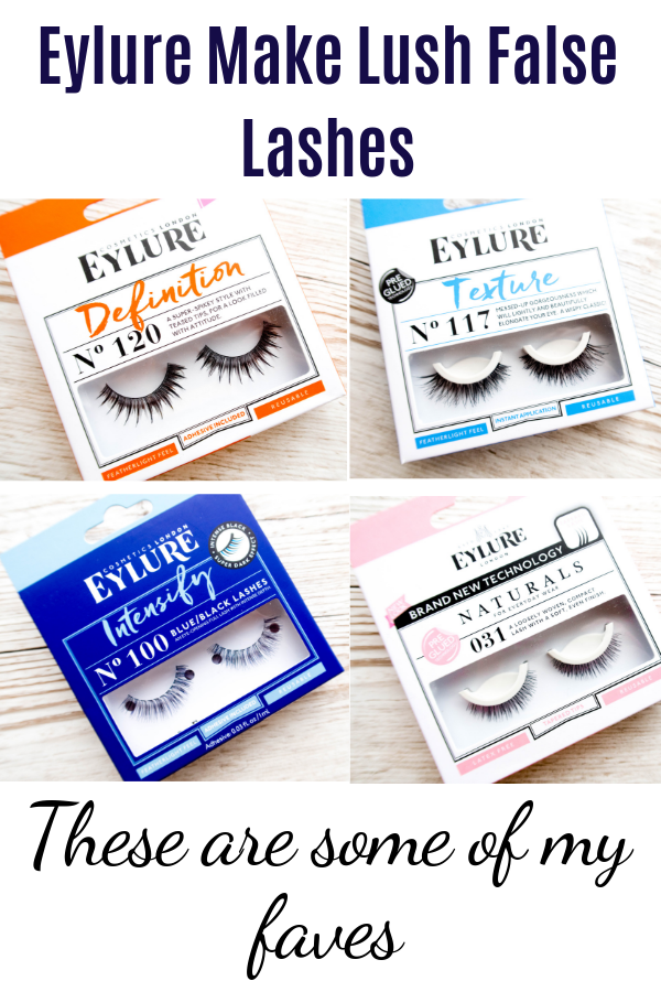 Glamorous false eyelashes Eylure review, best lashes for different occasions. #beauty #lashes #eyemakeup