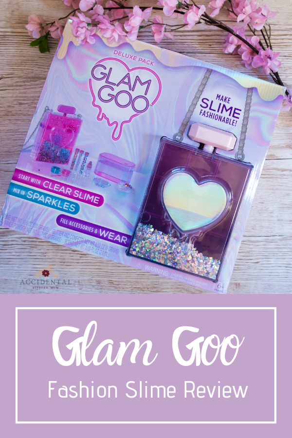 Glam Goo is a fab gift idea for girls aged 8-13. Create your own slime designs with sparkles, pigments and scents with this fun fashion slime kit and carry case #slime #giftsforgirls #toyreview