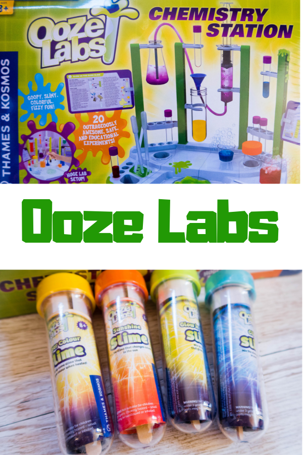 Ooze Labs STEM kits from Thames & Kosmos are fab, fun kits to get little scientific minds working. They make great gifts and would be a fab gift idea for boys and girls aged 8+ #STEM #STEMtoys #STEMLearning