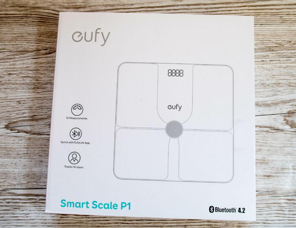 Eufy Smart scale in the box