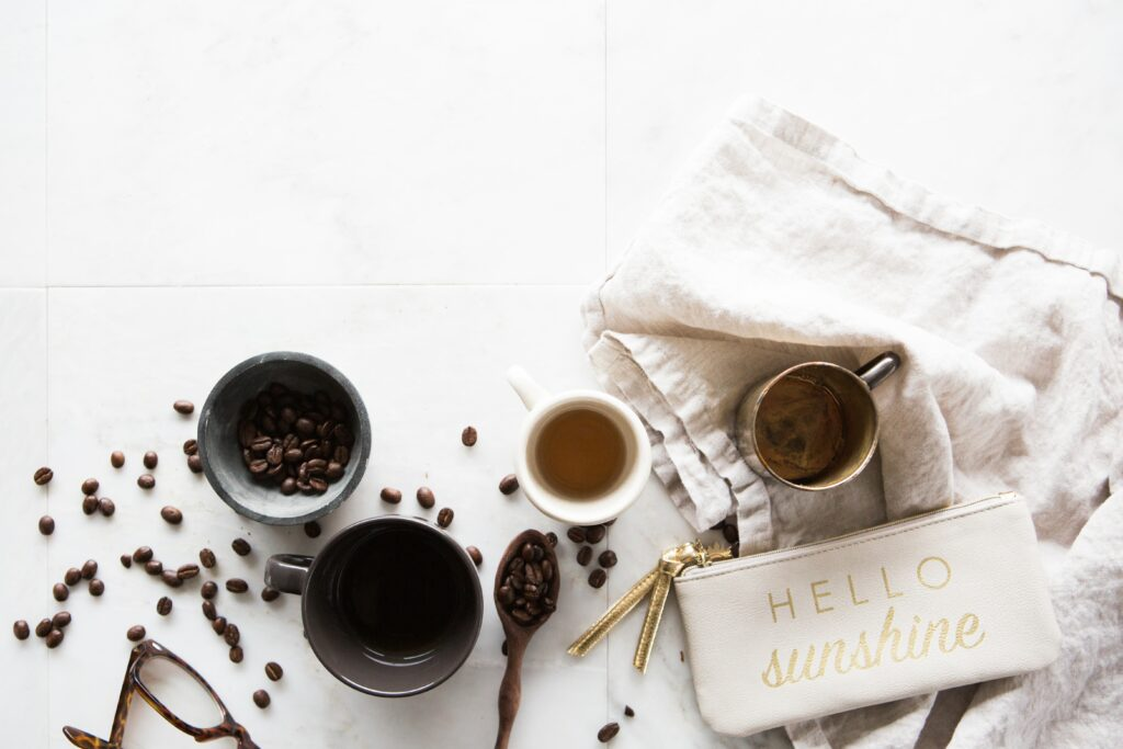 coffee and coffee beans aren't good for a great night's sleep!