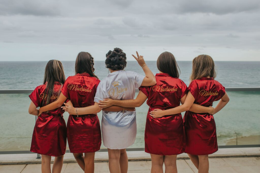 hen party dressing gowns