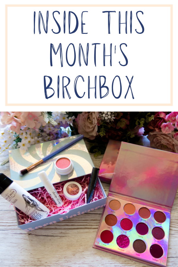 The UK Birchbox always seems to be full of exciting goodies. Click to see what I got this month and which offers you can take advantage of! #birchbox #subscriptionbox #makeup