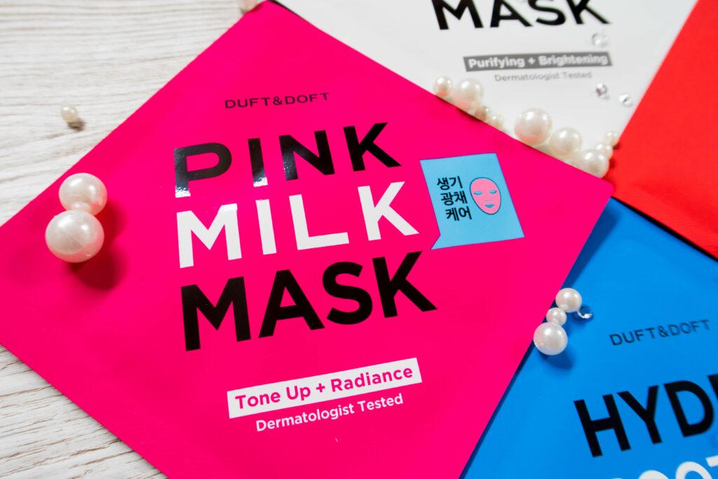 pink milk mask