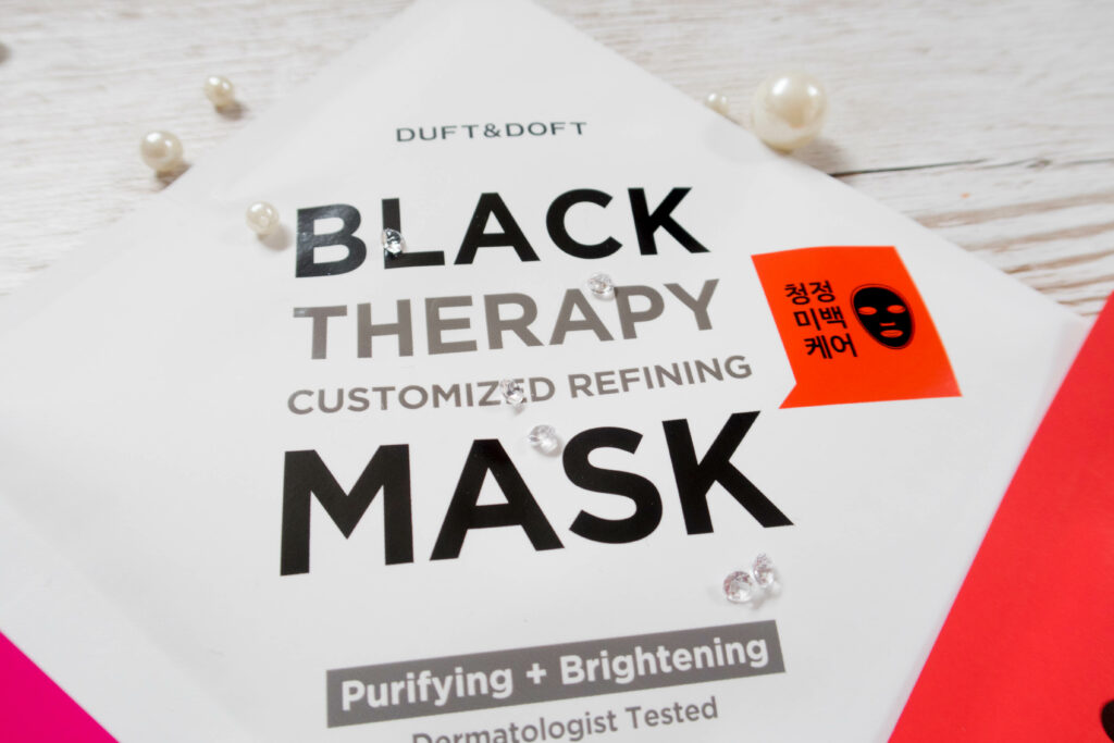 BlackTherapy Mask time mask