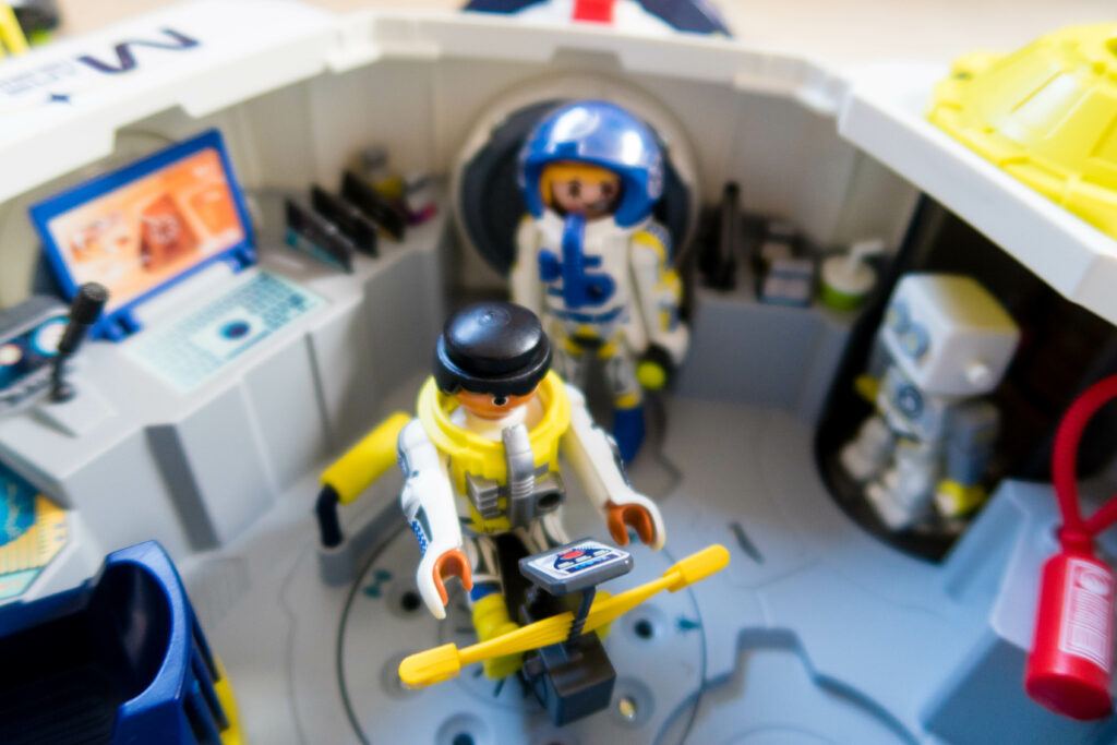 Moon to Mars with Playmobil
