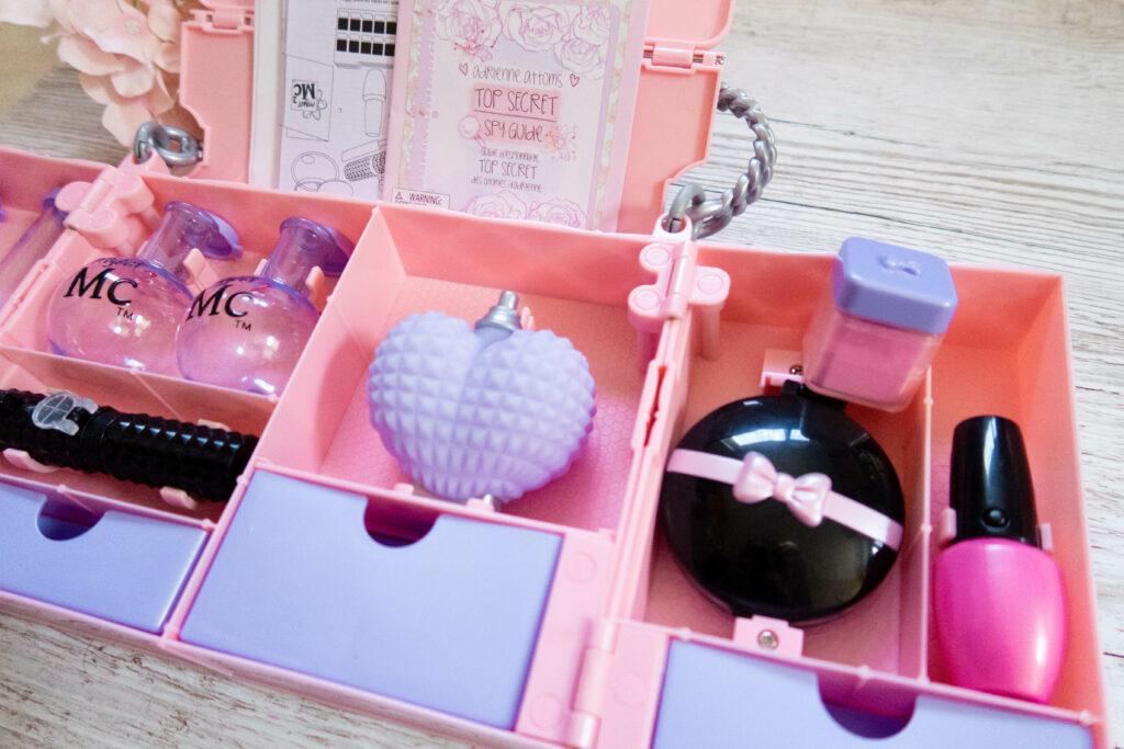 Close up of fake perfume