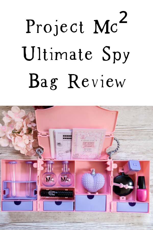 Project Mc² Ultimate Spy Bag review. Great STEM toy for fans of the show! #STEM