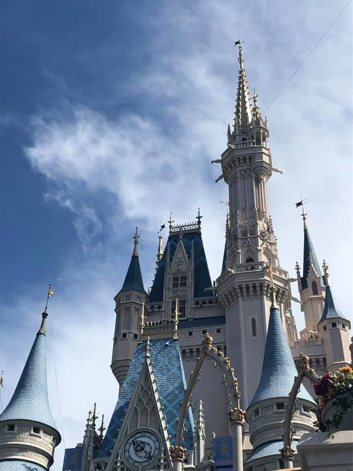 Disney Castle Planning our Dream Family Holiday to Florida
