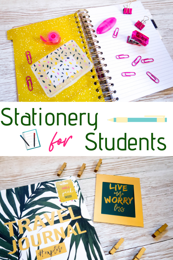 Wallet friendly stationery for students! This gorgeous stationery will set up the student in your life for a fantastic first semester at uni #stationery #notebooks #mindfulnessjournal