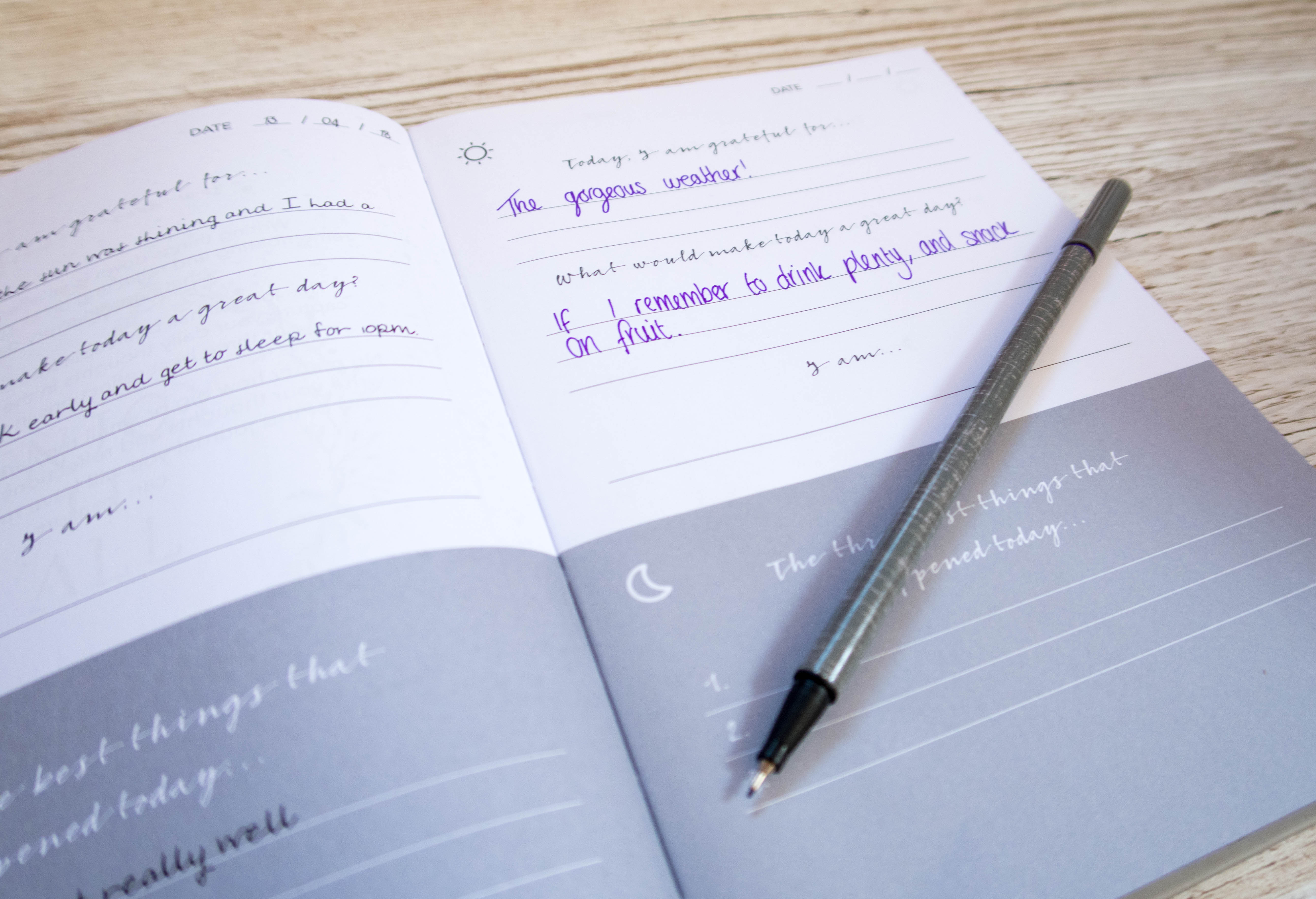 Mindful journal