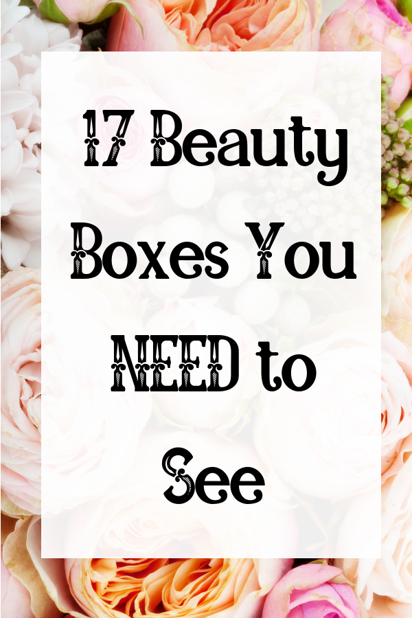If youre looking to treat yourself with a beauty subscription box, check out this massive list of beauty boxes to choose your best fit! #subscriptionbox #beautybox #beautyaddict