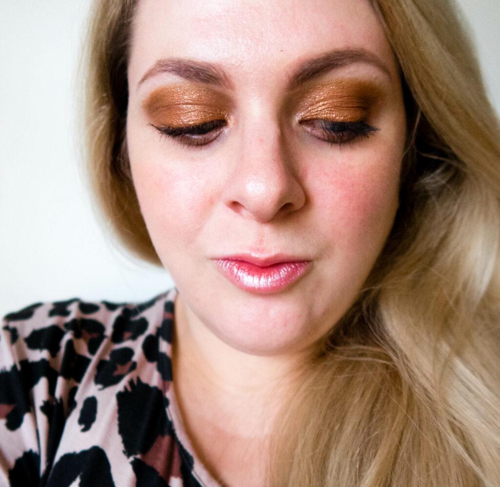 close up of eyeshadow