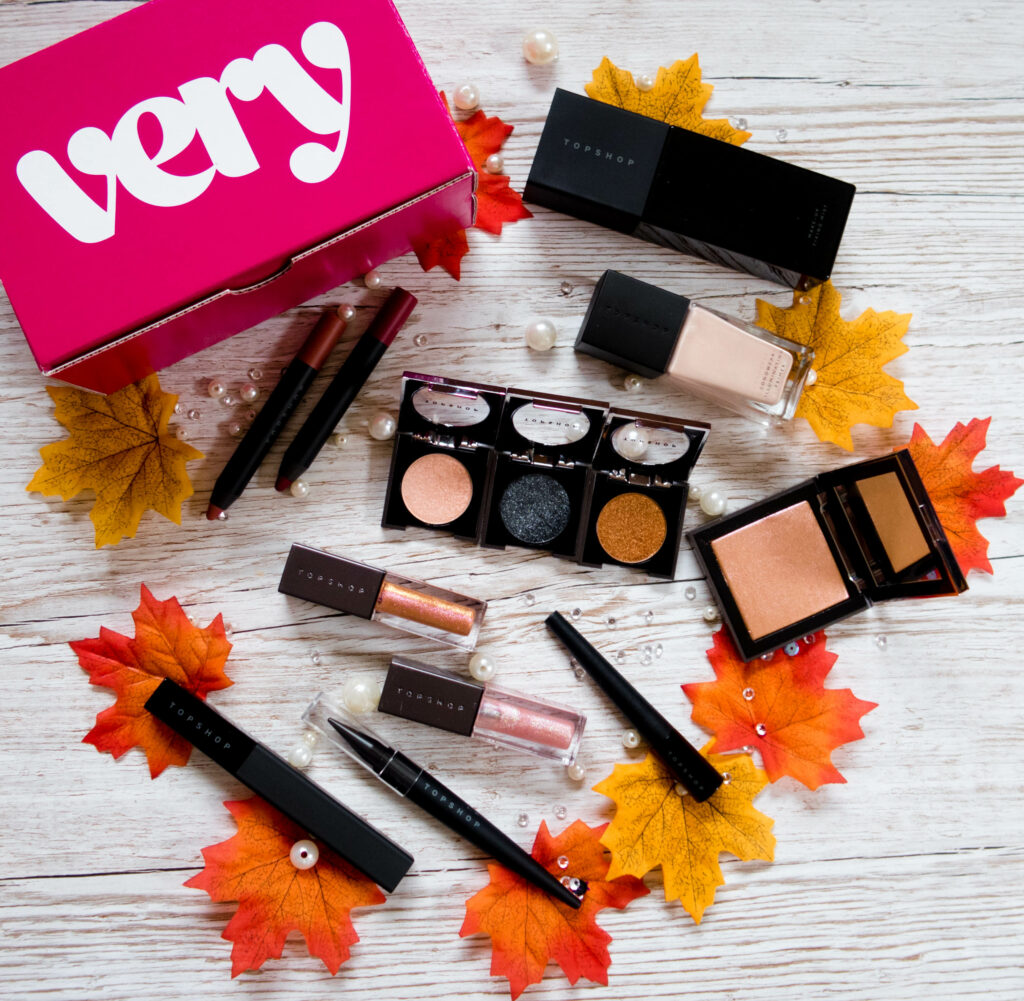 Topshop makeup is now available from Very