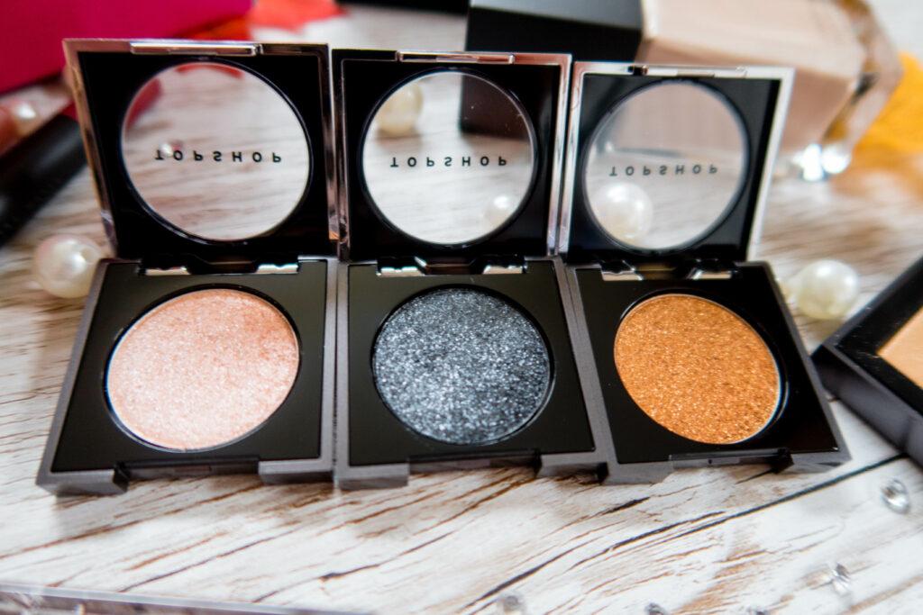 Topshop Makeup Review eyeshadows